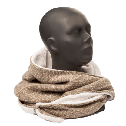 Komin z kapturem 10 do otulania głowy i szyi