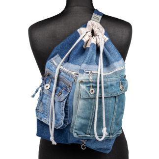 Plecak z dżinsu