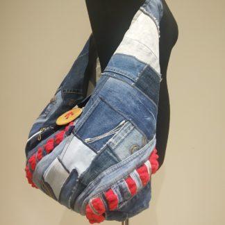 torba hobo z dżinsu