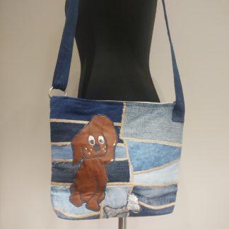 torba listonoszka z dżinsu