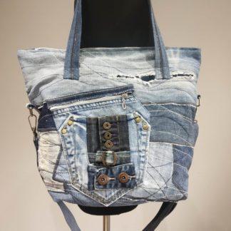 torba z dżinsu shopper