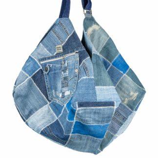 torba okta z dżinsu