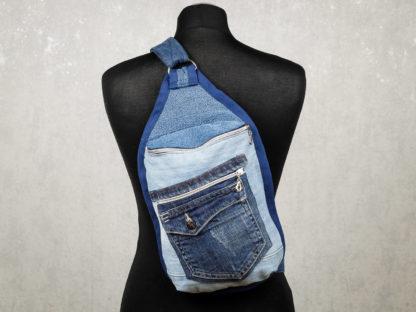 plecak z jeansu