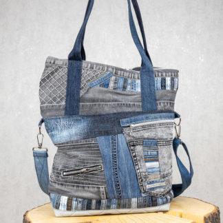 shopperka z jeansu